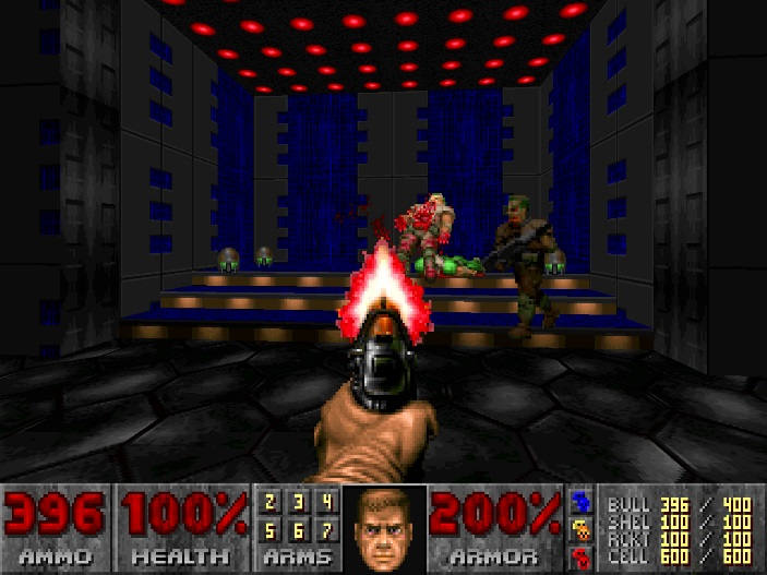 If you've somehow found your way here without ever seeing what the original Doom looks like, here you go.