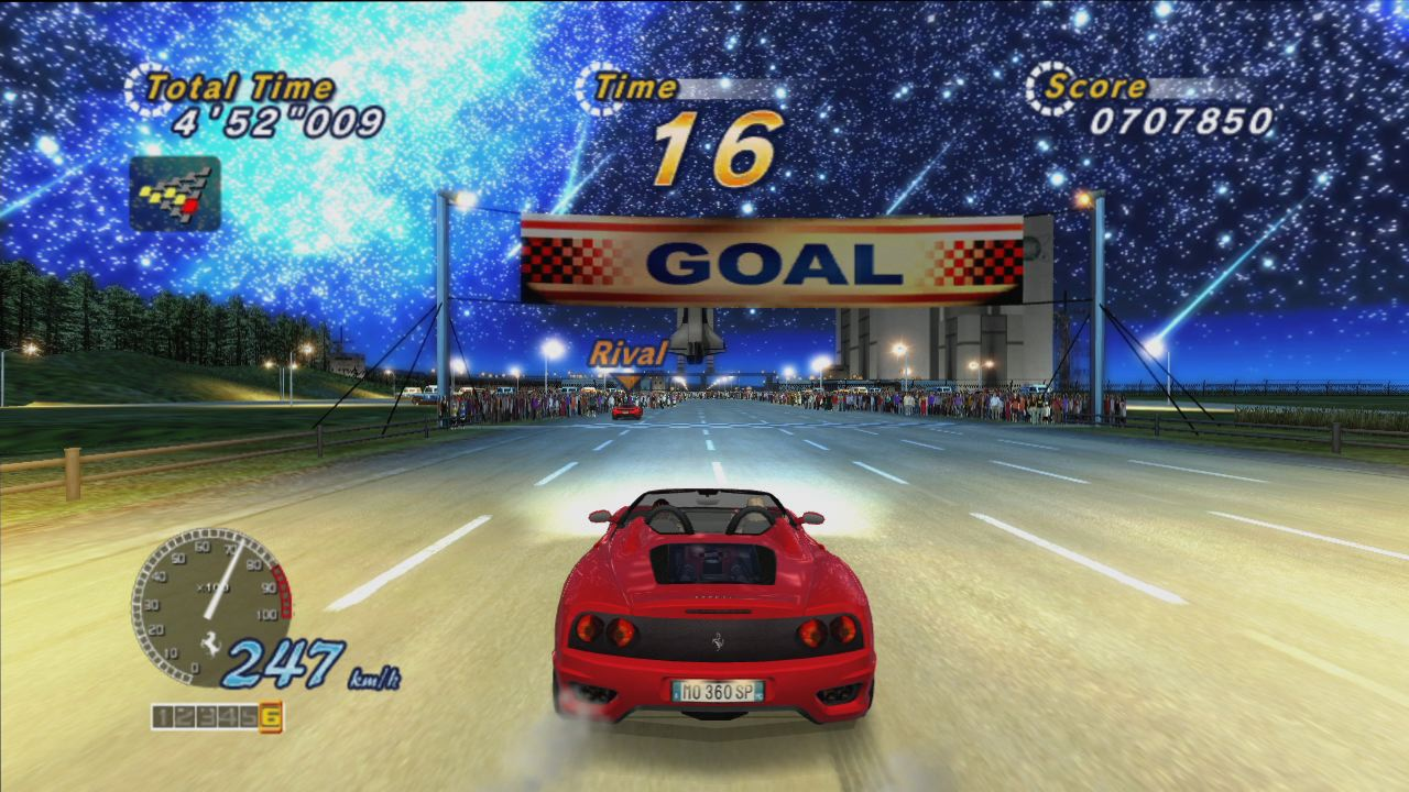 Outrun 2 pc gameplay