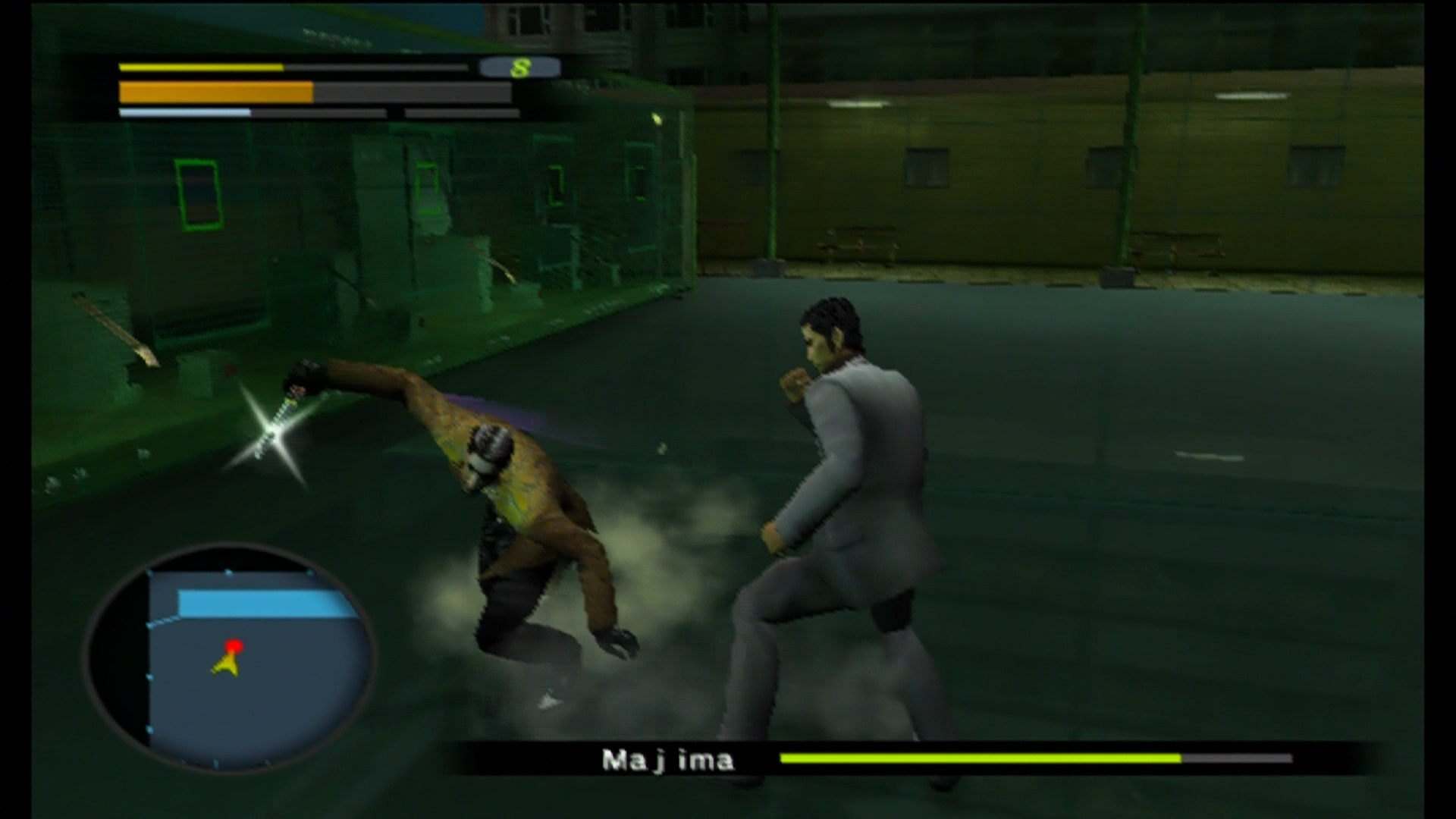 Retro Gaming Like A Dragon Part 01 Yakuza 2005 Three Voices Media Sony Ps4 0 Zero R1 In The Later Games Majima Becomes More Sympathetic And Much Sillier Character But Here Hes Basically Just Psychotic Villain Genuinely